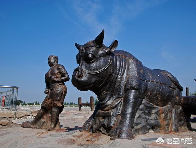 古时黄河上拉铁索桥的为什么是黄河大铁牛,而不是其它动物?