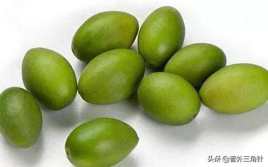橄榄有什么功效?