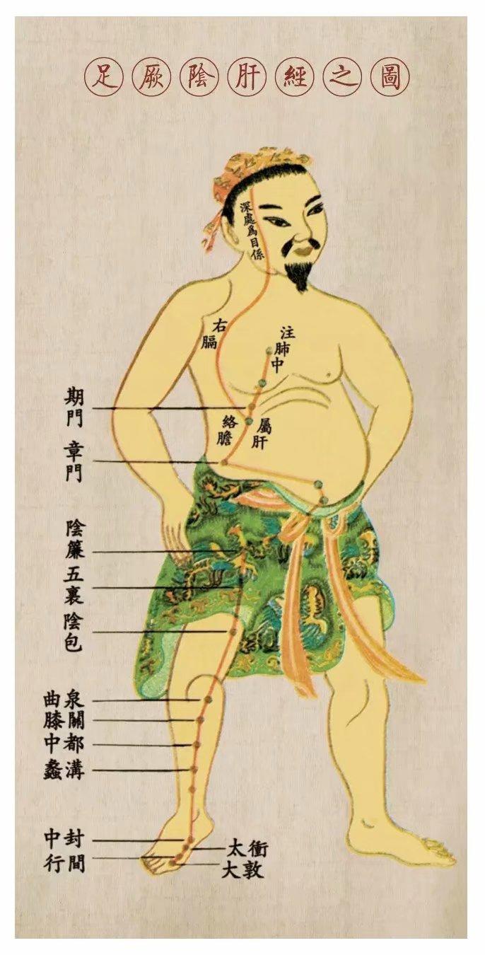 针灸如何调理肝脏,艾灸哪个穴位对肝好
