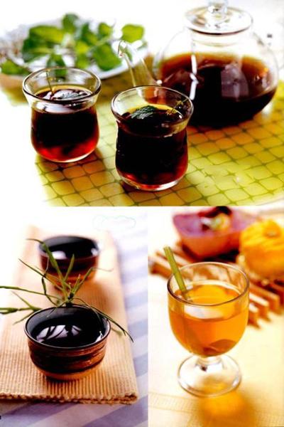 中药茶配方,中药茶的功效与作用